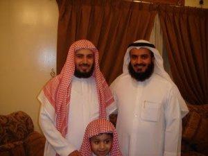 Syeikh Mishary Rasyid Al-Afasy bersama Syeikh Saad Ghomidi