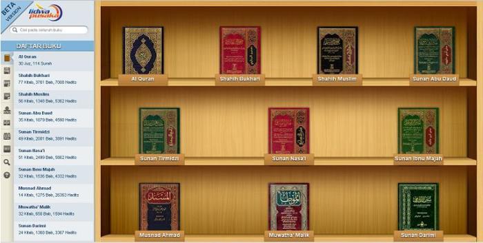 Kitab AlQuran dan Hadits Online